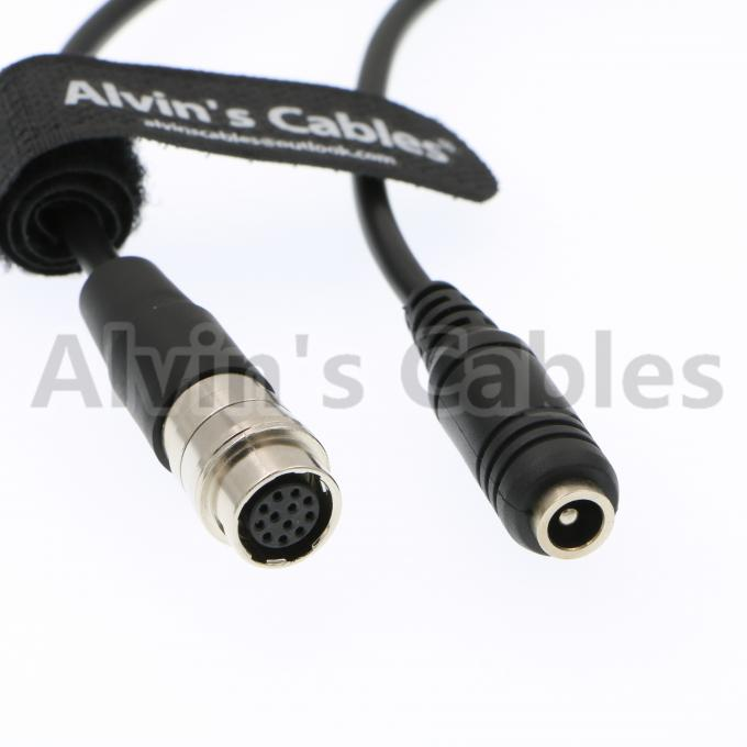 "Alvin's Cables 12 Pin Hirose to DC 12v Female Cable for GH4 Power B4 2/3"" Fujinon Nikon Canon Lens"