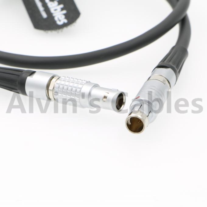 PVC Insulating 2 Pin Power Cable Video Power Cable Fischer 3 Pin Male To Lemo 2 Pin Male