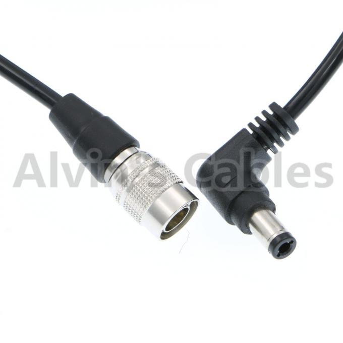 4 Pin Hirose Male to Right Angle DC Jack Power Cable for Sound Devices 633/644/688 Zoom F8 Blackmagic Cinema Camera 4K