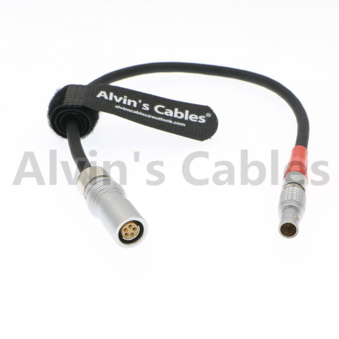 4 Pin LBUS to Fischer 5 Pin ARRI LCS Cable for Arri Lens Control System