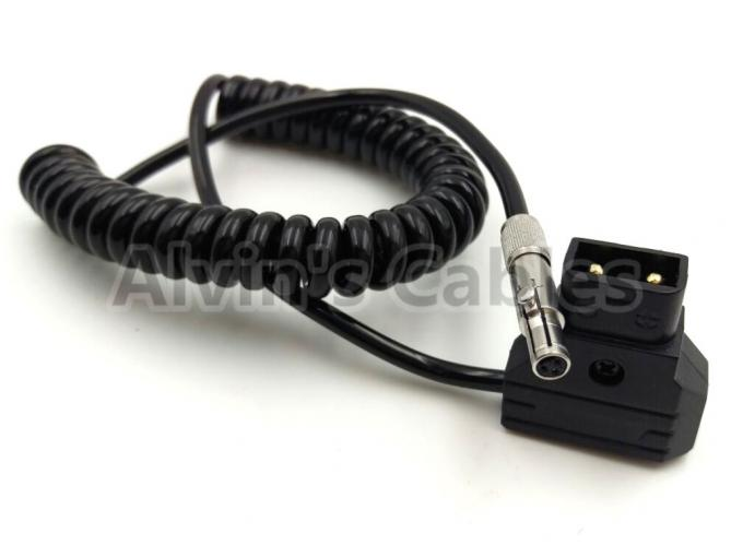 Alvin's Cables Odyssey 7 7q Monitor Coiled Power Cable Original NSC3F Neutrik 3 Pin to D Tap