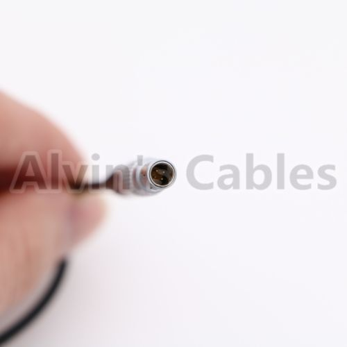 Alvin's Cables BNC Right Angle to 4 Pin Time Code Input Adapter Cable for Red Epic Scarlet