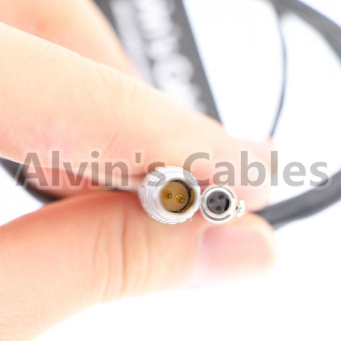 NSC3F Neutrik 3pin to lemo 2pin Arri Power Cable for Odyssey7 7q Monitor