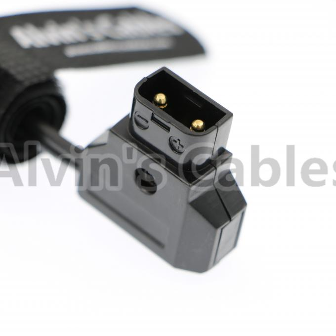 D-tap male to 3 D-Tap Female Extension Cable for Anton Bauer V-mount Battery