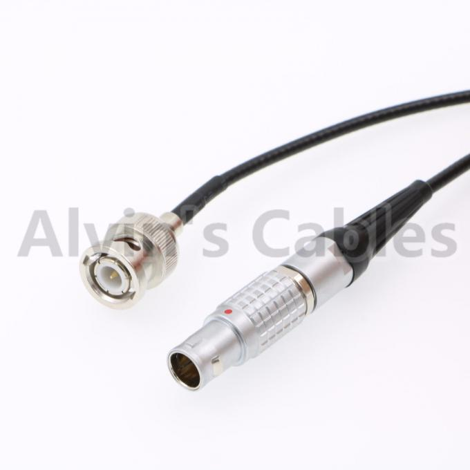 Nor1438 Camera Run Stop Cable BNC To Lemo 7 Pin For F - Stop / Bartech