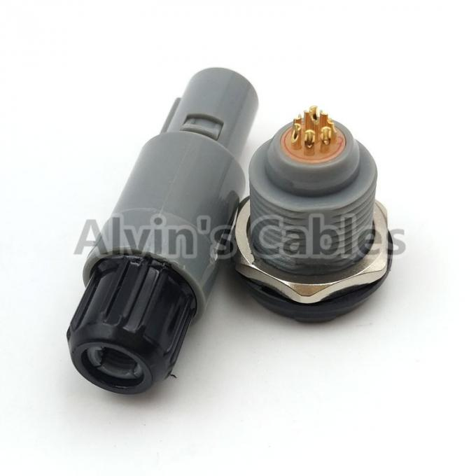 Customized Design Push Pull Connector Easily Operated For RF / Lighting