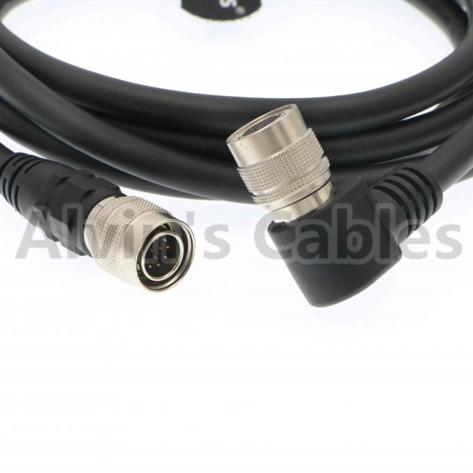 Right Angle 12Pin Hirose Female to Male Original Shield Cable for Sony Camera