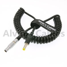 China good quality 2 Pin lemo Male to DC Coiled Twist Power Cable for Teradek Bond on sales