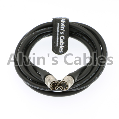 China Hirose 6 Pin Female To 6 Pin Male Cable For Radio Camcorder Camera factory