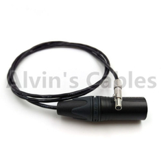 China Odyssey7 7Q Monitor Camera Power Cable Original 3 Pin To XLR 4 Pin Male factory