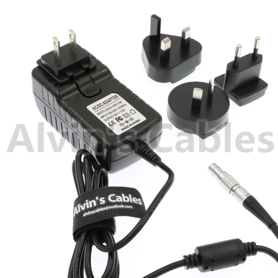 High Flex Teradek Power Adapter , Camera AC Adapter Lemos 2 pin Male To Universal AC