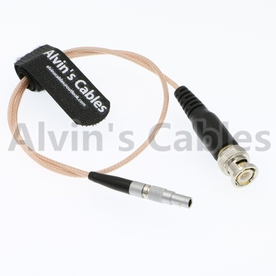China Alvin's Cables 4 Pin to BNC Male Time Code Input Adapter Cable for Red Epic Scarlet factory
