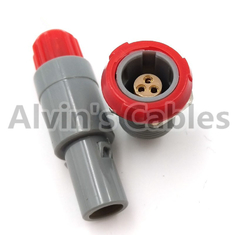 China Lemo 1 P Set 7 Pin Connector And Jack Pac / Plc Gray Jacket Single Positioned 7 Pin Connector supplier
