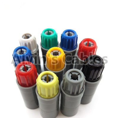 China Plastic Lemo 8 Pin Plug PRG.M.8.PLLC39A Compatible Lemo Connector 8 Pin Male P Series supplier