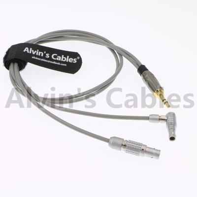 China Zaxcom IFB Input Audio Camera Timecode Cable 100% Compatible With Originals factory