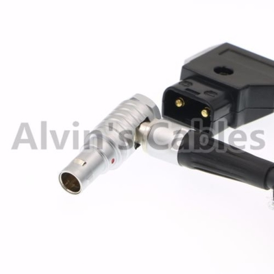 Alvin's Cables Power Cable for Teradek Bolt 500 2 Pin Rotate 180 Right Angle Male to D TAP