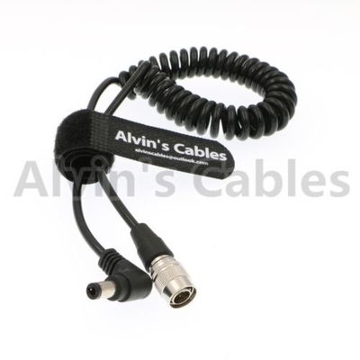 China Alvin's Cables Hirose 4 Pin Male to Right Angle DC Jack for Blackmagic Sound Devices 633/644/688 Zoom F8 factory