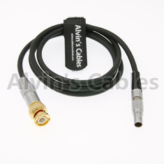 China Alvin's Cables BNC to 5 Pin Male ARR Mini TIME Code Cable for Sound Devices ZAXCOM factory