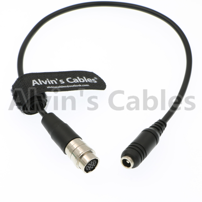 "China Alvin's Cables 12 Pin Hirose to DC 12v Female Cable for GH4 Power B4 2/3"" Fujinon Nikon Canon Lens supplier"