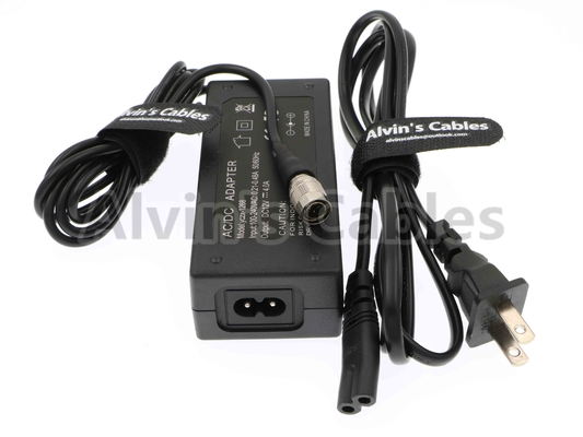 XL-WPH3 AC Camera Power Adapter 702T Recorder 4 Pin Male Hirose To AC