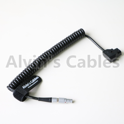 China 2 Pin Lemo To D - TAP Power Coiled Cable For Bartech Focus Device Receiver supplier