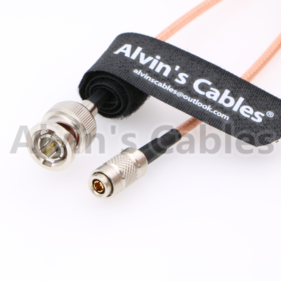 China Alvin's Cables DIN 1.0 2.3 Mini BNC to BNC Male HD SDI 75ohm Cable for Blackmagic HyperDeck Shuttle factory