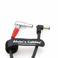 China Alvin's Cables Z CAM S6 Power Output Cable Ninja V DC Jack to 2 Pin Right Angle Upward factory