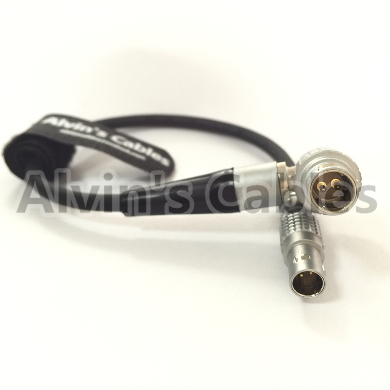 Kinemini 4k Camera Cable From Breaker Box 0B 2 Pin To 1B 2 Pin Right Angle Cable supplier