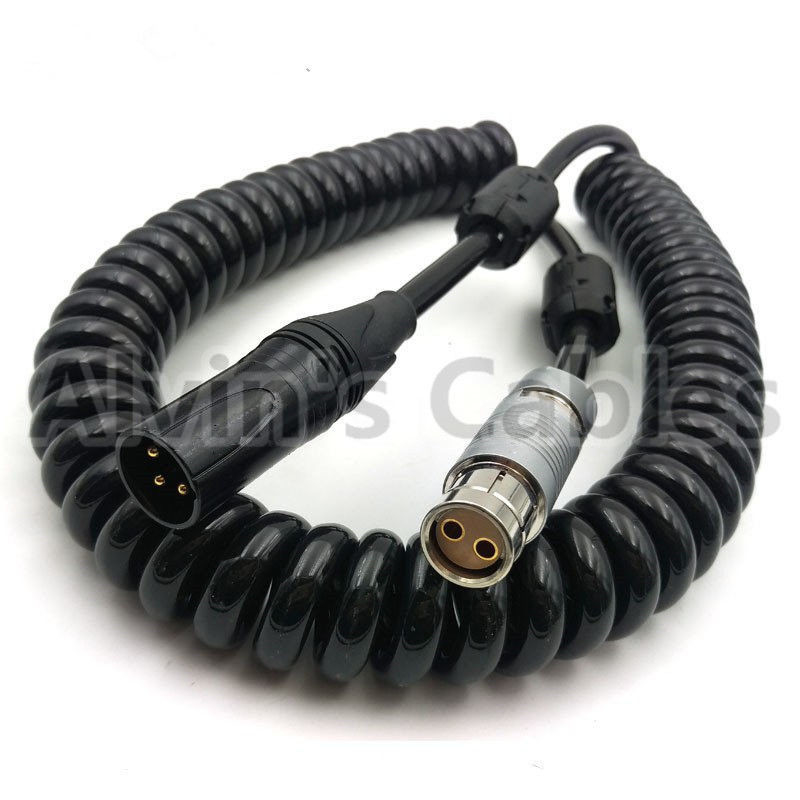 Big 2 Pin Female To 3 Pin Xlr Power Cable No Potential Breakdown Problems supplier