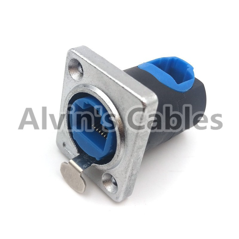 Socket Female 90 Degree RJ45 Connector -40℃ To 80℃ Large Temperature Range supplier