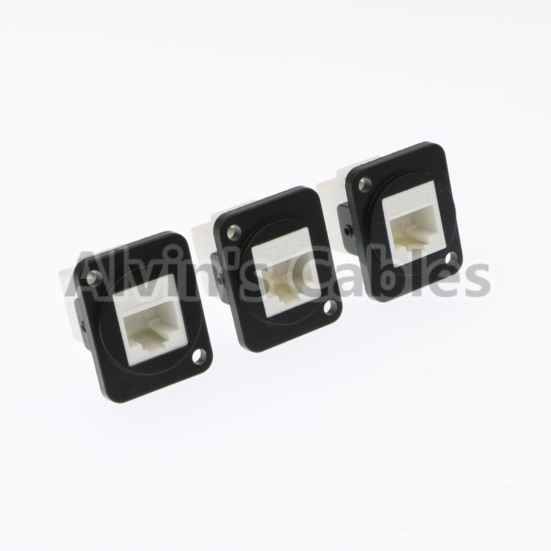 Panel Mount Waterproof RJ45 Connector Ethernet Cat6 Connection Type supplier