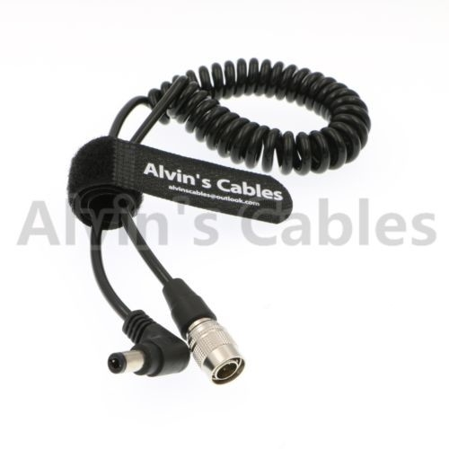 Alvin's Cables Hirose 4 Pin Male to Right Angle DC Jack for Blackmagic Sound Devices 633/644/688 Zoom F8 supplier