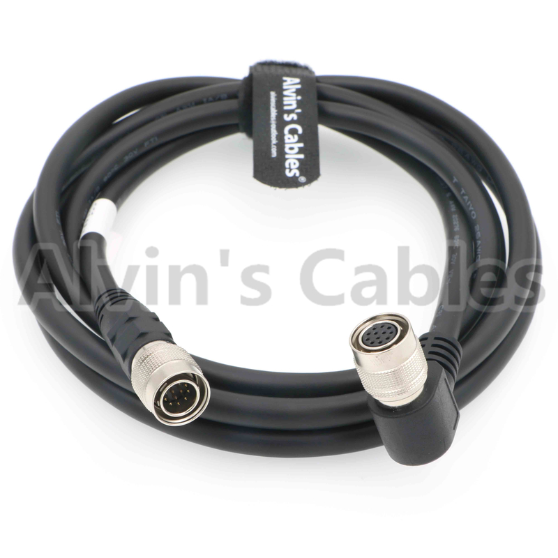 Right Angle 12 Pin Hirose Female to Male Original Shield Cable for Sony Camera supplier