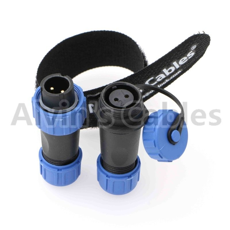 SP13 Series Plastic Electrical Connectors 125-500V Rated Voltage Mating Cycle Over 500