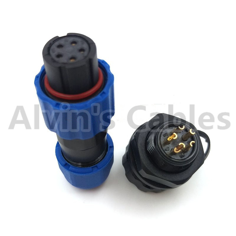 Outdoor Waterproof Plastic Cable Connector IP68 Rating 13-28mm Outer Diameter supplier