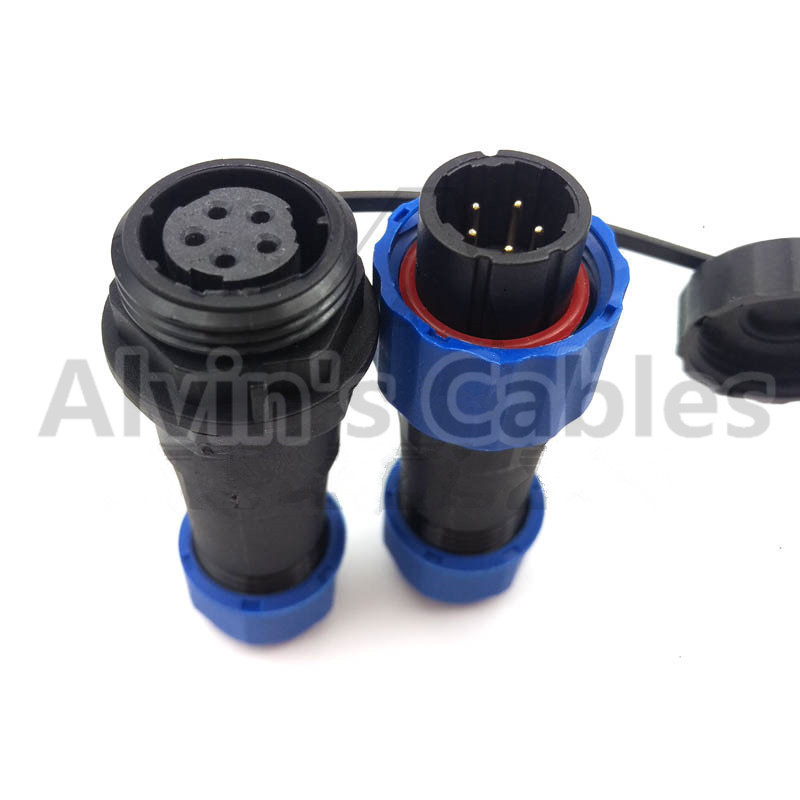 SD16 Male Female Plug Socket Connector SD16 TP-ZP 2 3 4 5 7 9 Pin Round Form Sealed supplier