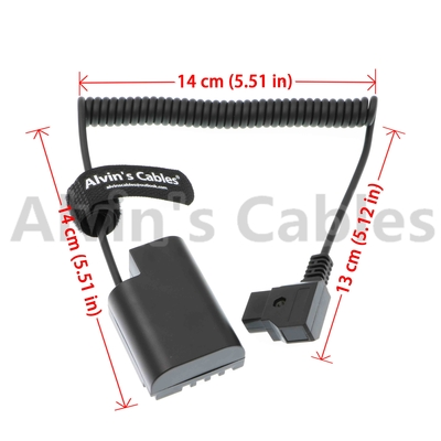 Dummy Battery Type Camera Power Adapter D - Tap To DMW-DCC12 DC Coupler